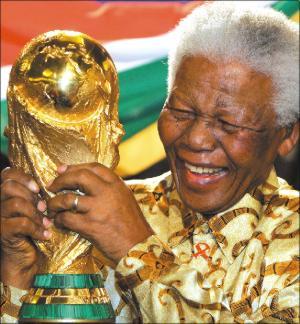 NELSON MANDELA Y LA COPA FUT BOL